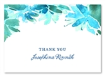Botanical Blooms Thank you cards by ForeverFiances Weddings