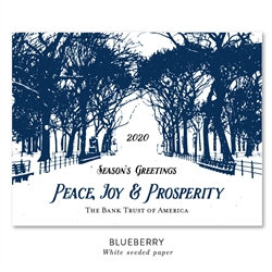 Unique Business Holiday Cards | Central Park