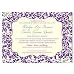 Border Wedding Invitations | Cheery Garden (plantable paper)