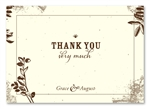 Plantable Thank you cards ~ Cherished Backyard