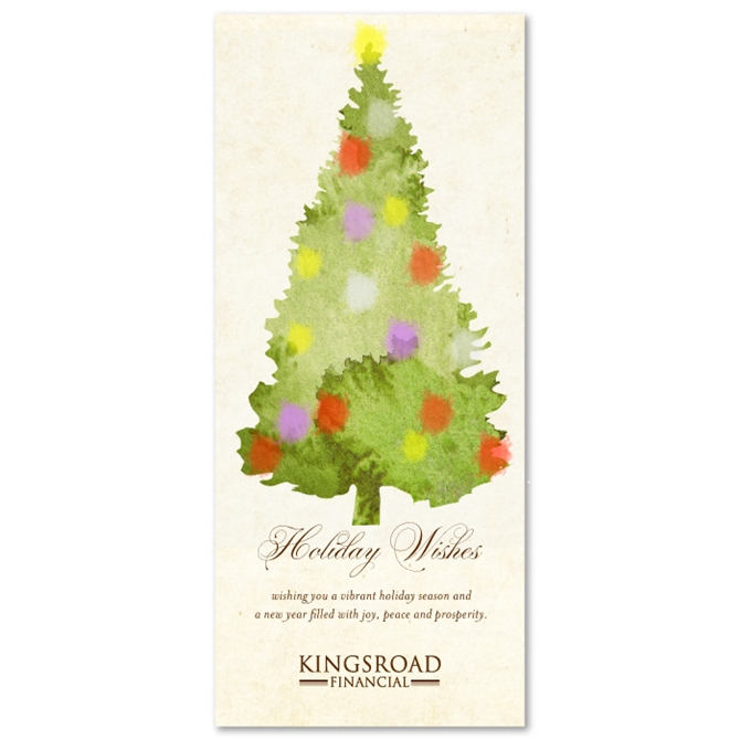 Plantable Christmas Tree.Holiday Greeting Cards On 100 Recycled Paper Christmas