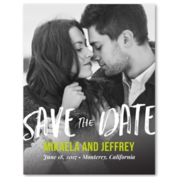 Photo Wedding Save the Date | Desire (100% recycled paper)