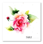 Rose Place Cards | Divine Rose (*seeded paper)
