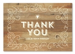 Rustic Thank you cards | Elegant Back Country