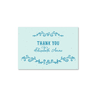 Seeded Thank you cards ~ Enchanted