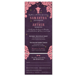 Send n Sealed Wedding invitations on 100% Recycled Paper ~ Enchanting Times