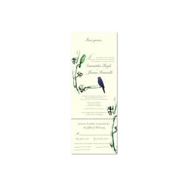 Send n Sealed Invitations ~ Forest Songs (100% recycled antique paper)