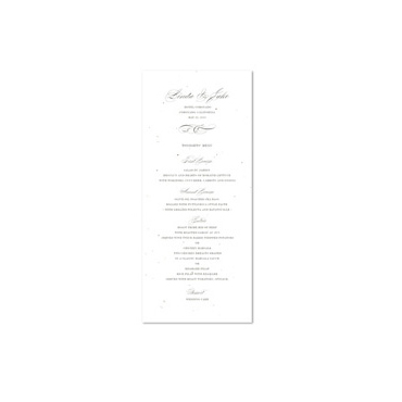Elegant Wedding Menus | Graceful Chic