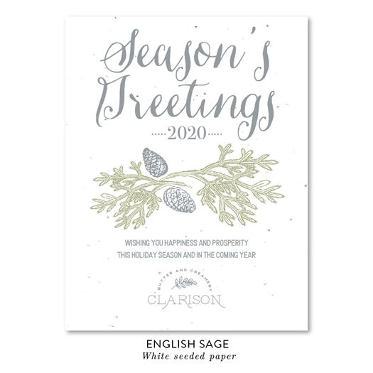 Business Greeting Cards | Holiday Pines