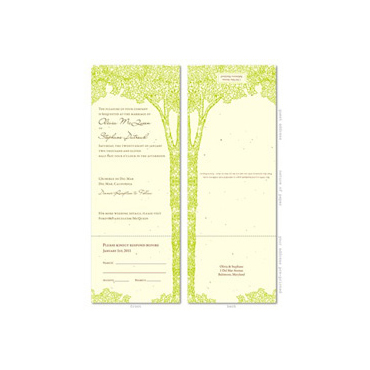 All in One Wedding Invitations ~ La Foret