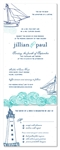 Beach Wedding Invitations | Love by the Dock (plantable)