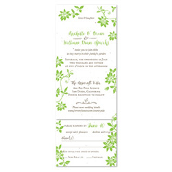 Unique Plantable Invitations - Countryside Wedding (seeded paper)