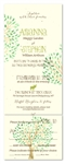 Tree Wedding Invitations on Plantable Paper | Mountain Lodge