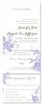 Recycled Paper Invitations ~ My Love Rosie (100% recycled paper)