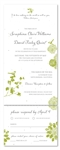 Seeded Paper Wedding Invitations - Nature's Glory (plantable paper)