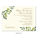 Italian Destination Wedding Invitations | Olive de Toscane (100% recycled paper)
