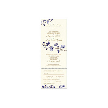 Send n Sealed Invitations ~ Passionate Blossoms