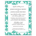 Green Wedding Cards | Princess L.
