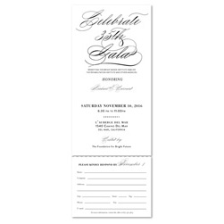 Fancy Gala Invitations | Private Reception