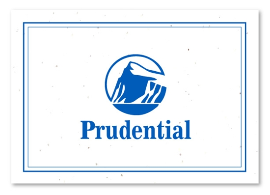 Prudential real estate cards on seeded paper by green business print reheart Choice Image