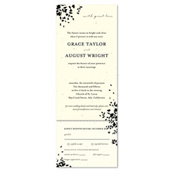 Garden Wedding Invitations - Romance