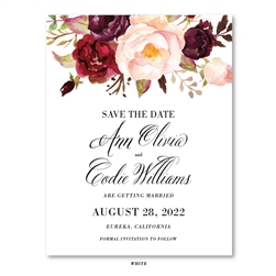 Roses Wedding Save the Date Cards | Rosewood