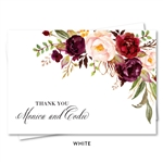 Red Roses Bohemian Thank notes | Rosewood