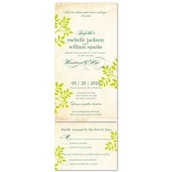 Vintage Wedding Invitations | Shalom