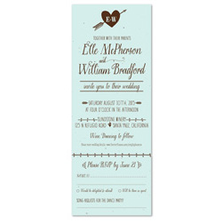Natural Wedding Invitations - Simple Pleasures
