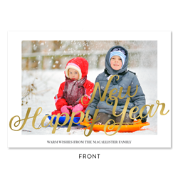 Sled Holiday Cards | Snow Ride (100% recycled paper)