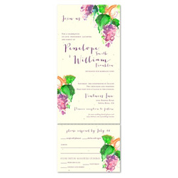 Send n Sealed Wedding Invitations ~ Sonoma's Harvest
