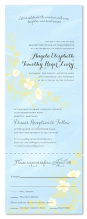 Natural Maui Wedding Invitations | Summer Dance
