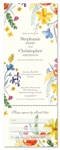 Wildflowers Summer Wedding Invitations