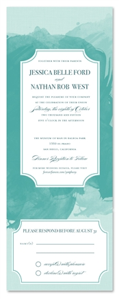 Seal and Send Wedding Invitations - Symphony