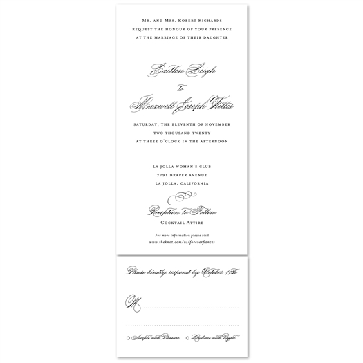 Tiffany style Wedding Invitations send n sealed