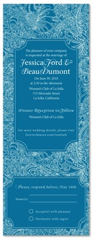 Recycled Wedding Invitations - Tree Bark
