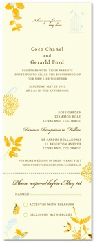 Recycled Wedding Invitations - Very Mademoiselle