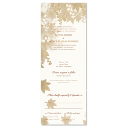 Send n Sealed Wedding Invitations ~ Vintage Fall