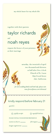 Seal and Send Wedding Invitations - Whimsical