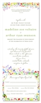 Unique Wedding Invitations ~ Wildflowers Prairie