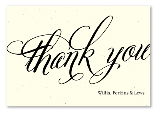 Plantable thank you cards on seeded paper beginnings by green reheart Gallery