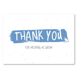 Plantable Thank you cards | Casual No1