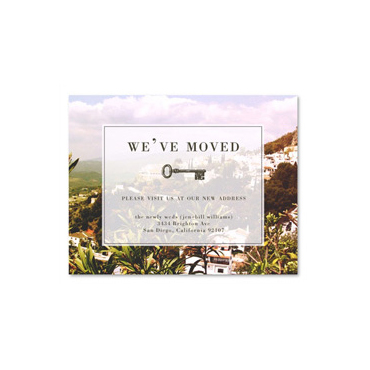 Photo Moving Announcement Postcards