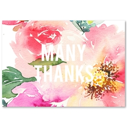 Seeded Paper Thank You Cards | Exotic Blooms