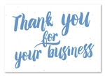 Plantable Business Thank you cards | Fresh Paint