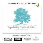 Creative Thank you notes to get referrals, popular with realtors and advisors | Eternity Tree