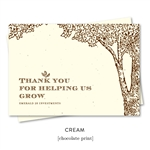 Thank you cards to get referrals, popular with advisors | Forest Tree