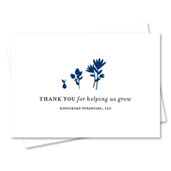 Unique Thank you cards | Grow my Financial Business