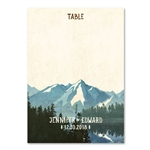 Lake Tahoe Table Cards | California Nevada