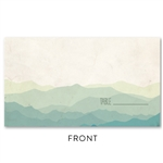 Mountain Rustic Place Cards | Majestic Range